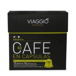 CAFE VIAGGIO ESPRESSO ARABICA 10 UNIDADES