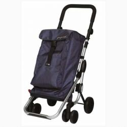 CARRO COMPRA PLAY PLEGABLE GO UP AZUL OSCURO