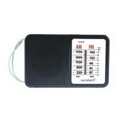 RADIO PORTATIL SUNSTECH RPS411BK ALTAVOZ NEGRA