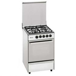 COCINA GAS MEIRELES G2302DVW BUT 3F 56.5CM BLANCA