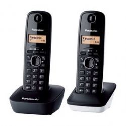 TELEFONO INAL PANASONIC KX-TG1612SP1 DUO BL