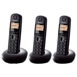 TELEFONO INAL PANASONIC KX-TGB213SPB TRIO NEGRO