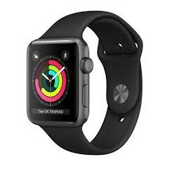 APPLE WATCH 3 42MM. GRIS ESPACIAL MQL12QL/A