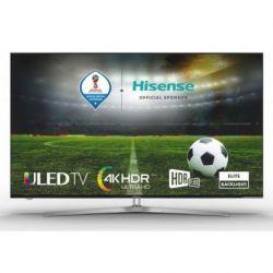 LCD LED 50 HISENSE H50U7A ULED 4K UHD HDR PLUS SMART TV WIFI PLATA/NEGRO