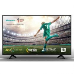LCD LED 55 HISENSE H55A6100 4K UHD HDR SMART TV QUAD CORE WIFI
