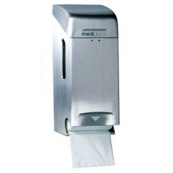 PR0784CS DISPENSADOR DOBLE PAPEL HIGIENICO INOX SATINADO