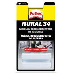 NURAL 34 GRIS 50GR MASILLA RECONSTRUCTORA METALES