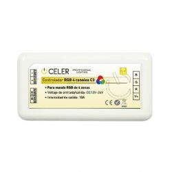 CELER CONTROLADOR RGB 4 CANALES C3