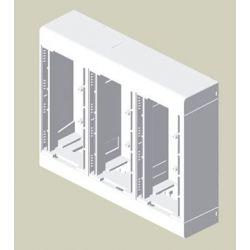 UNX CAJA MODULAR 6 MEC SUPERFICIE PVC-M1 BLN 85033-2