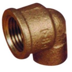 CODO 090G-90 HH BRONCE 22x1